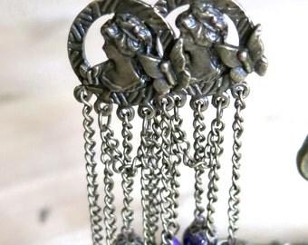 Purple Godess Earrings