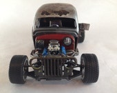 Scale Model Car,Rat Rod,Ford,Junker Car