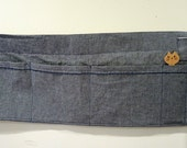 Vendor Craft Apron Multi Pocket Denim with Hidden Money Pocket