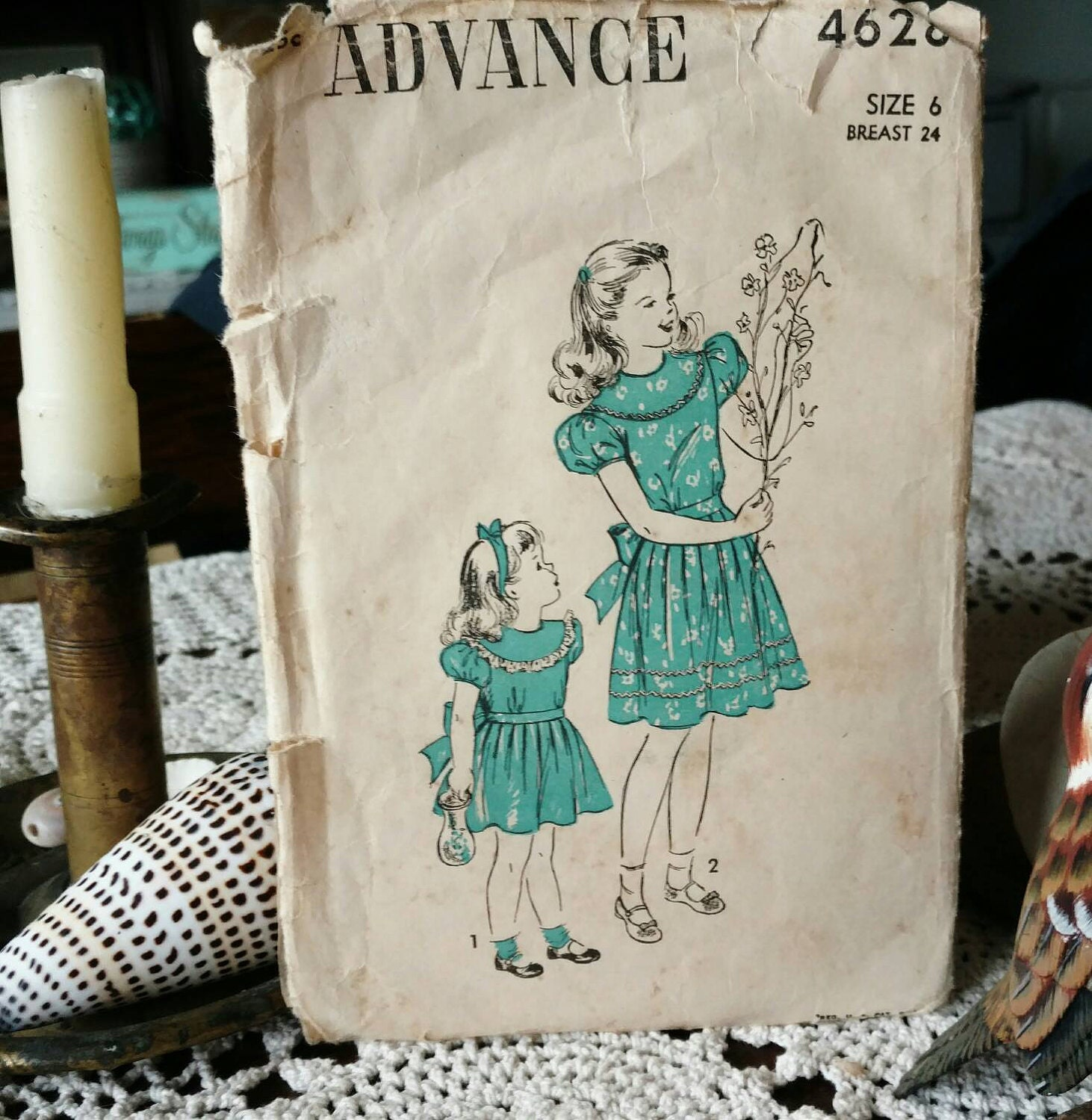 1940s Girls Dress Patterns