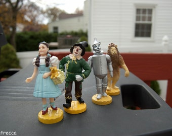 wizard of oz figures outside photo print photography 11x14