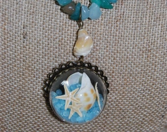 Beach themed Necklace
