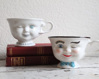 Bailey's Irish Cream His and Her Teacups, Coffee Cups, Advertising, Coffee and Tea
