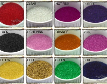 20/30/50 Grams Assorted Sets Mix Color Manicure Micro Beads Caviar Microbeads Balls Fake Faux Sprinkles Deco Nail Art Tiny Glass Beads SS.MB