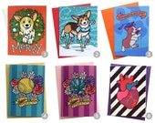SPRING SALE Pick 5 Greeting Cards Assortment