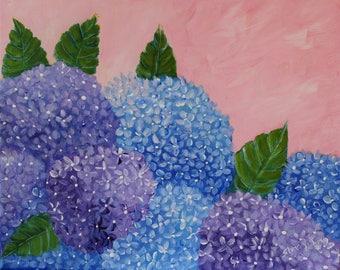 Blooming Hydrangea's