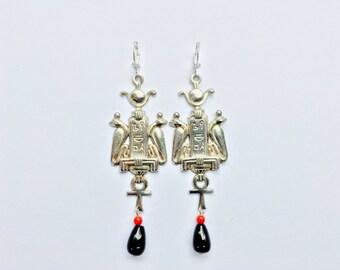 Egyptian Revival Earrings