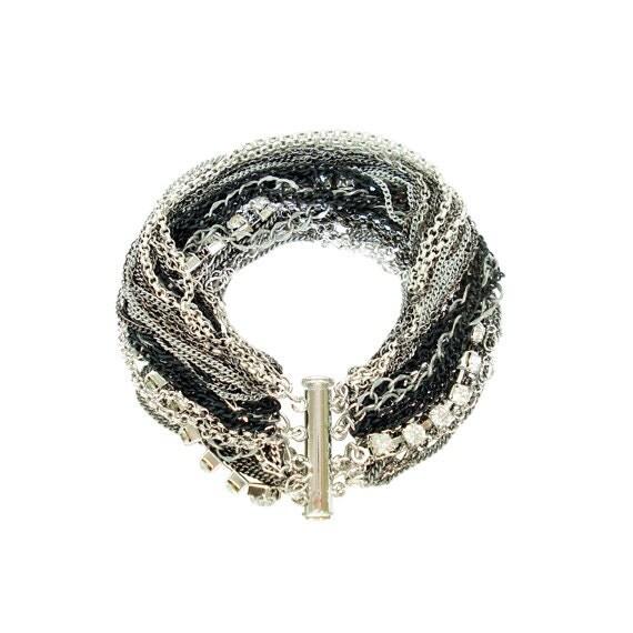 Multi Tone & Multi Strand Bracelet