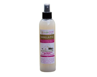 Vanilla Fig Hair Spritzer for natural hair growth