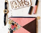 Rifle Paper Co Bag Les Fleurs Bag iPhone Clutch Wallet iPhone Wristlet Case Bohemian Clutch Bag Wristlet Wallet