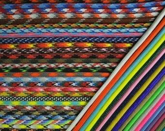 Grab Bag of Assorted Colors of Paracord 550 parachute cord - Mixed Assortment
