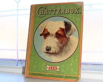 Vintage Children's Book Chatterbox 1925