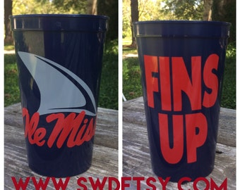 OLE MISS LANDSHARKS, Keep Calm Tailgating 22 oz Tumbler, Ole Miss, University of Mississippi, Rebels, Gift
