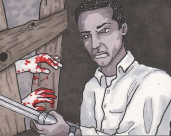 Night of the Living Dead Sketchcard
