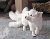 PREORDER: 5 tailed Kitsune / Hulijing pup