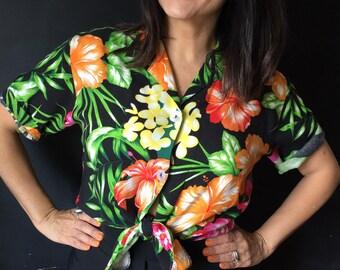 Vintage Hawaiian style shirt