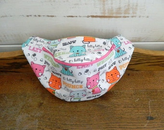 Kitty Lovers Fanny Pack - Hip Bag - Children thru Adult Sizes