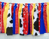 Toy Story Woody Garland - FREE Shipping - Toy Story Garland - Toy Story Bunting - Toy Story Party - Woody Garland - Woody Bunting
