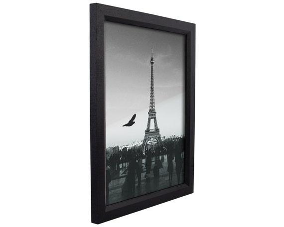 Craig Frames 24x36 Inch Black Wood Picture Frame Economy