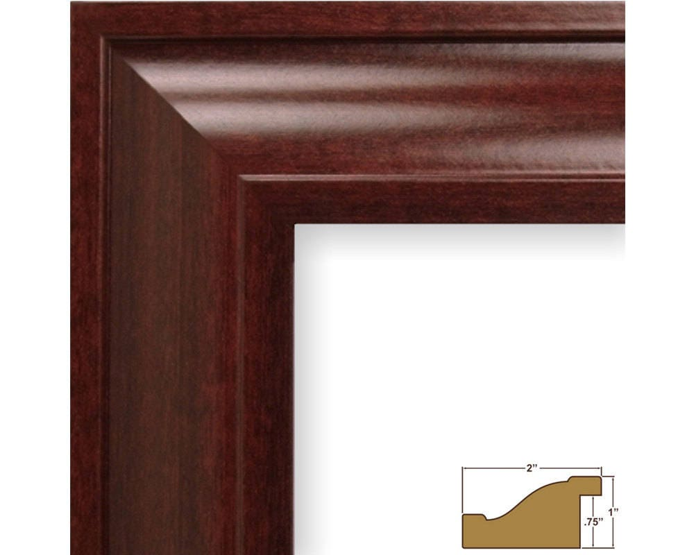 22 By 28 Frame: Craig Frames 22x28 Inch Red Mahogany Picture Frame