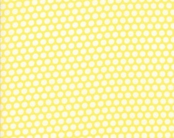 Bonnie and Camille - Basics - Bliss Dot in Yellow - 55023-30 - 1/2 Yard