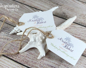 Mini Favor Tags, Wedding Favors, Place card tags
