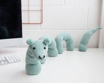 Make your own Desk Loch Ness Monster  - Knitting Kit