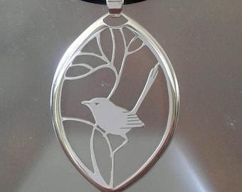 Wren pendant