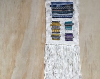 SALE - 50% reduced - Contemporary hand woven wall hanging