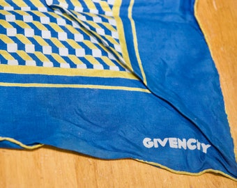 Givenchy Silk Hand Rolled Scarf
