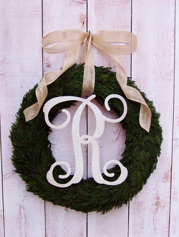 Fall Wreath-Fall Front Door Wreath-Monogram Wreath-Winter Wreath-Year Round & Fall Wreath-Fall Front Door Wreath-Monogram Wreath-Winter Wreath ...
