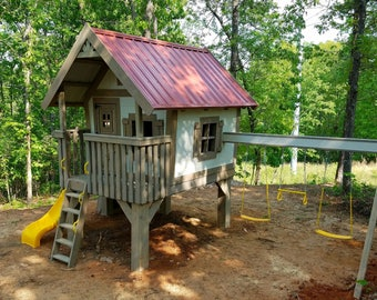 The Woodland Treehouse by Imagine That Playhouses!