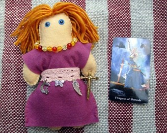 Freyja Poppet - Voodoo Doll, Juju Doll, Spirit Doll, Magic Doll, Goddess Doll
