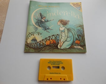 Hilary Knight's Cinderella Read-Along Book and Cassette