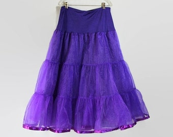 40%OFFSALE Purple Petticoat Plus Size Lingerie Full Length Costume Cosplay Steampunk