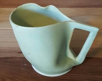 Green Distorted Porcelain Mug