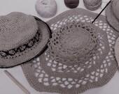 Custom Order ......Natural Raffia Hat