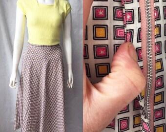 1940s summer skirt