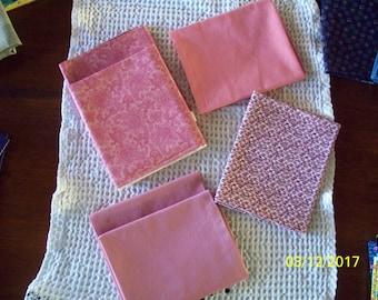 Pink Paisley, Geometric, Solid Color, Fat Quarters