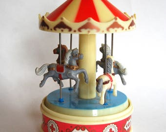Vintage Carousel Music Box by Yap's