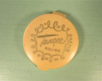 Tangee Rouge Compact - Vintage Peach Red