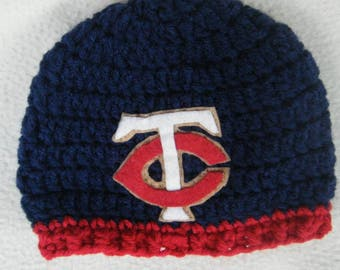 Crocheted Twins Inspired Beanie/Hat - MADE TO ORDER - Handmade by Me