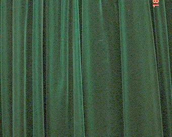 Vintage Velvet Drapes Custom Lined Pinch Pleats French Country Romantic