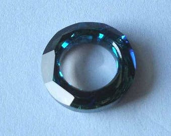 1 SWAROVSKI 4139 Cosmic Ring Crystal 14mm BERMUDA BLUE