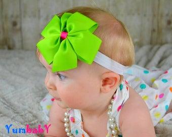 Baby Headband - Bow Headband, Headband for Girls, Newborn Headband, Baby Girl Headband