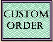 Custom Listing for Lori