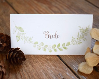 Willow Wedding Place Card
