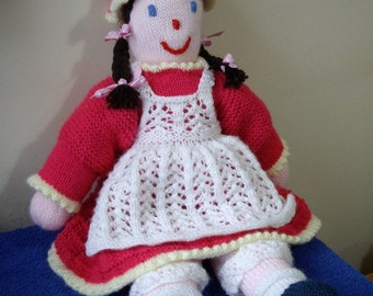 Traditional Rag Doll knitting pattern