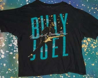 Billy Joel 1993 New Year's Eve Concert T-Shirt Size M