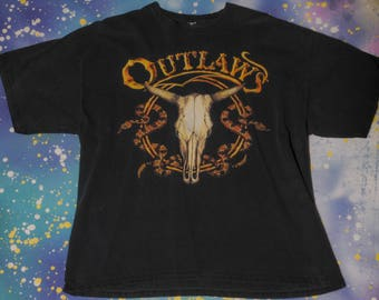 OUTLAWS The Band Country Rock T-Shirt Size XL